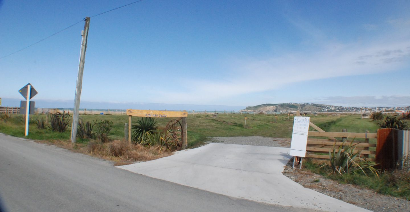 Oceanview Oamaru - Campground and Accommodation (Fence Advertising Space) photo 0