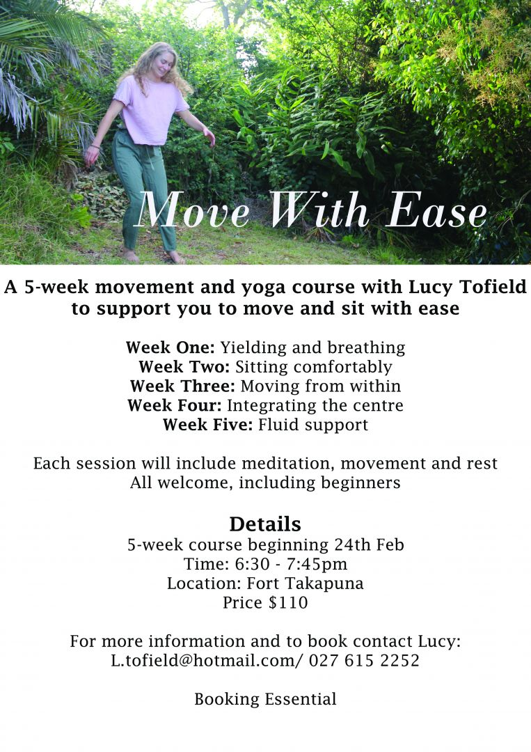 Move with Ease Movement and Yoga Course with Lucy Tofield photo 0