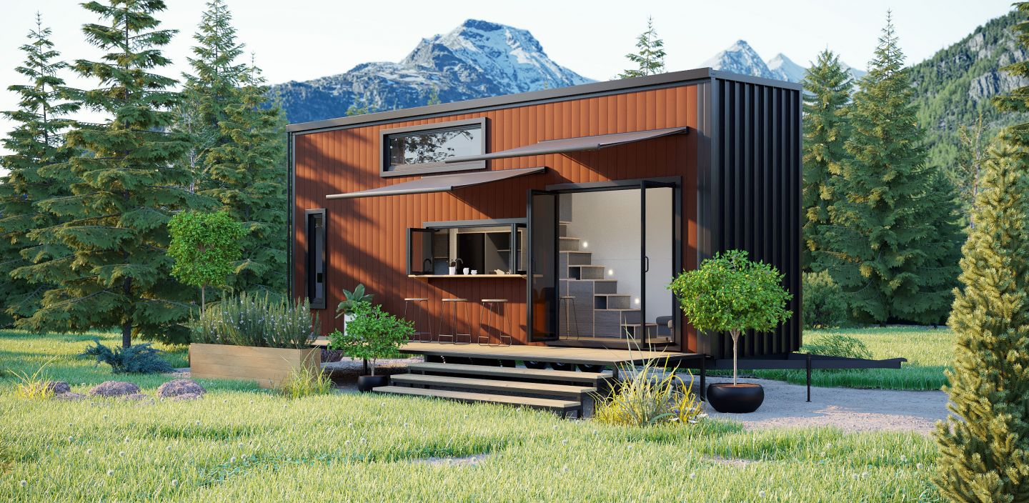 Tiny House on wheels for sale photo 2