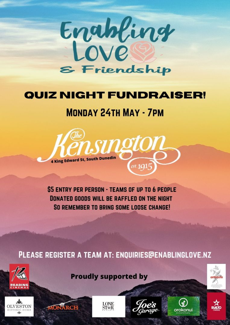 Enabling Love & Friendship  Quiz Night photo 0