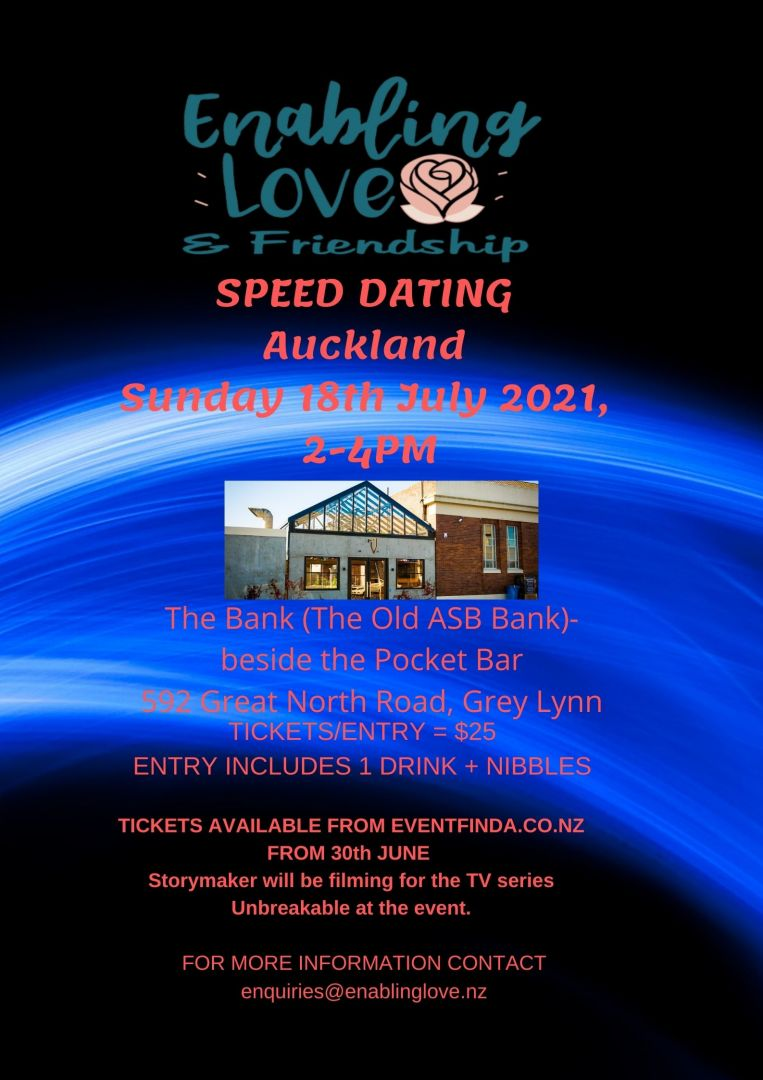 Enabling love New Zealand Speed Dating event-Auckland photo 0