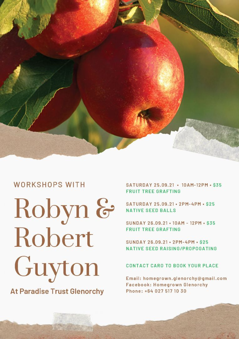 Workshops with Robyn & Robert Guyton photo 0
