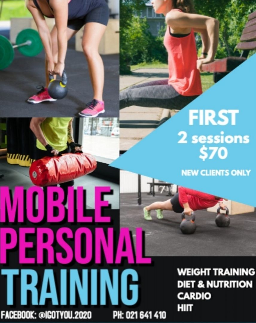 Bootcamp, personal training or mobile personal training photo 0